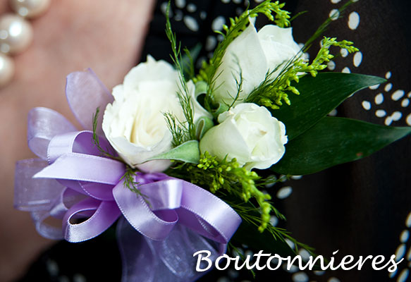 Flowers for Boutonnieres